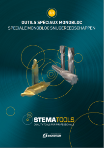 Speciale Monobloc Snijgereedschappen cover